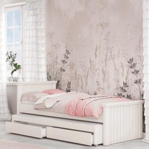 מיטת יחיד נפתחת + משטח שינה נוסף ו- 2 מגירות – דגם דרור