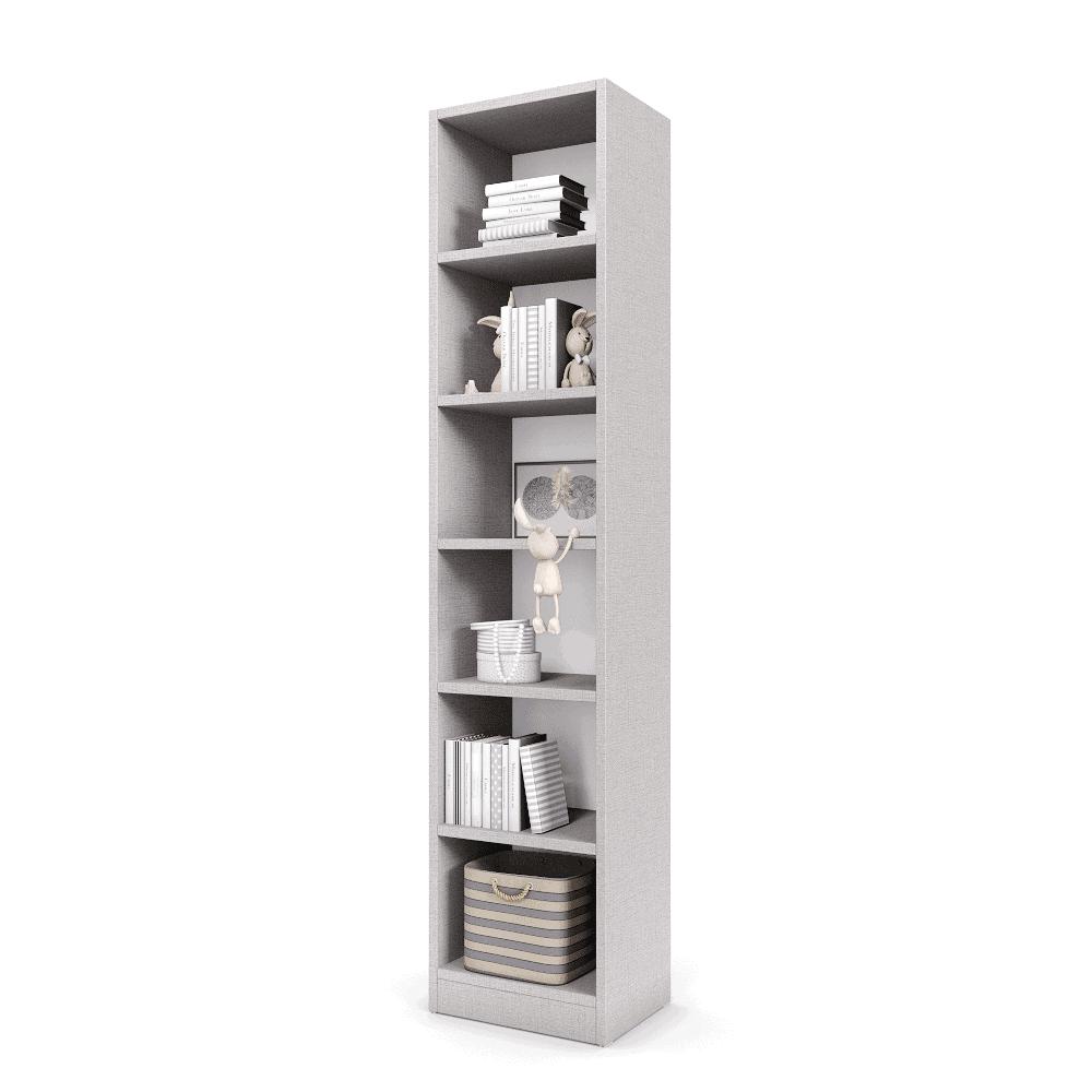 עמודון אחסון ותצוגה הכולל 6 קוביות תצוגה אנכיות – דגם יעל