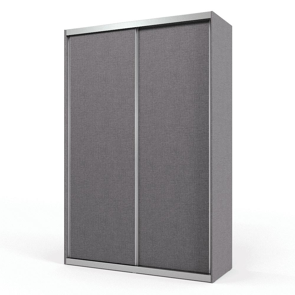 ארון הזזה 2 דלתות הכולל 8 חללי אחסון נפרדים, וחלל תלייה לקולבים – דגם השקה